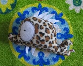 Plush leopard Firmin