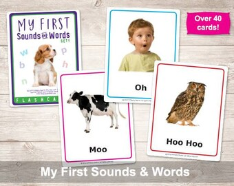My First Sounds and Words Flashcards-Set 1