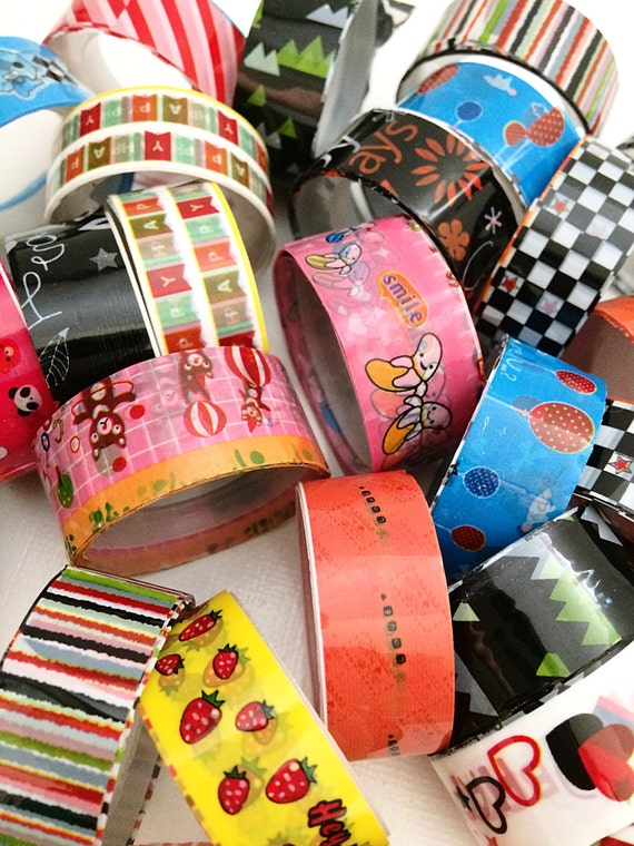 Grab bag for planner, washi tape mystery bag, washi tape, planner accessories, planner decor, diary decor, back to school supplies