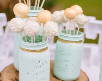 Rustic Style Cake Pops