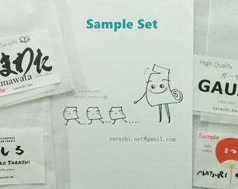 SARASHI SAMLPLE / Trial SET (Tamawata Sarashi, Matsuri Sarashi, Mashiro Sarashi and Gauze)