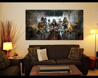 Playstation/Xbox Assassins Creed Wall Art