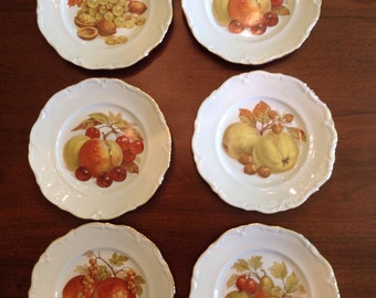 Wiuterling Fruit Plates, made in Germany