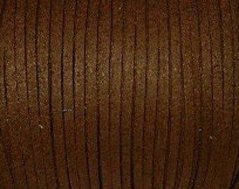 3 meter cords - 3 * 1 mm - Brown / K1-0752