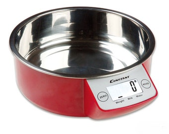 High quality kitchen with removable Bowl stainless steel digital scale