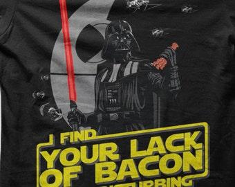 Star Wars T-shirt - Darth Vader Bacon tshirt