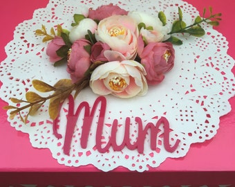 Mothers Day 'Mum' Gift  / Keepsake Box