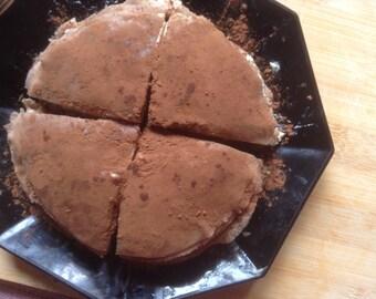 Caramel mocha chocolate mile crepe cake