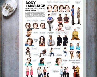 Body Language. 23 simple ways to read other people.