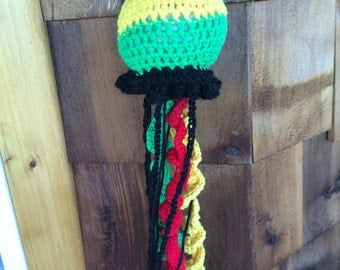 Rasta jelly fish