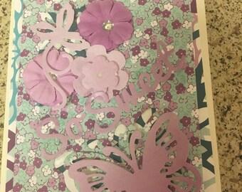 Handmade Greeting cards(5 card assortment)