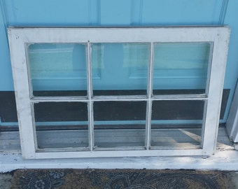 Vintage victorian window