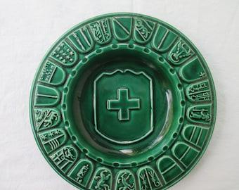 Vintage Swiss ashtray