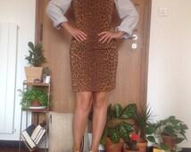 Vintage Janet Leopard Mini