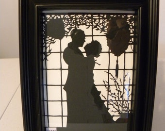 Gone With The Wind Silhouette