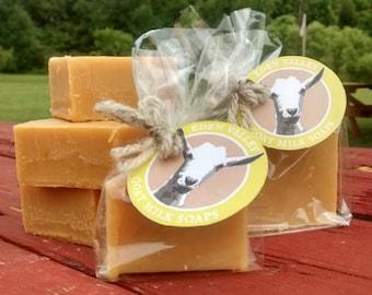 All Natural Lemongrass Goat Milk Soap 4 oz.
