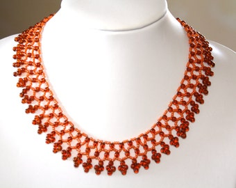 Necklace, Pearl necklace, Necklace: Maple leaf
