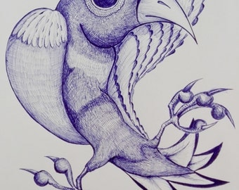 Birds of imagination (picture) serie 1/3 BIG