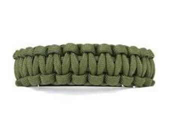 Olive Drab Paracord Bracelet