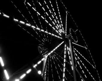 Starburst Carnival Ride- Fine Art Photo