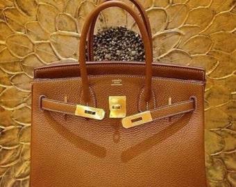 hermes leather bag - Items similar to SALE Vintage Purse Bag // Coral/ Salmon Birkin ...