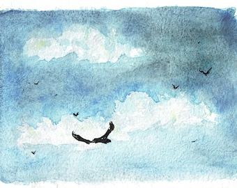 The harried eagle