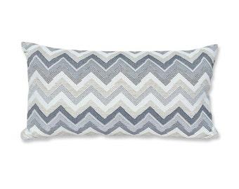 Christopher Farr Flamestitch Bolster Pillow Cover
