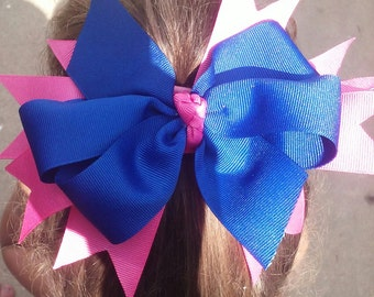 Pinwheel spiked bow