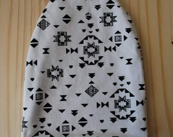 Reversible slouchy baby/toddler beanie