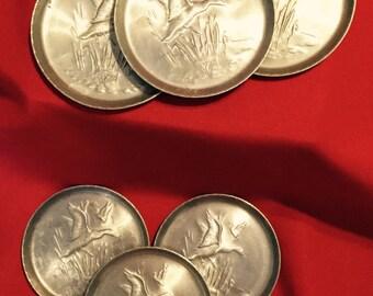 Everlast Aluminum Coasters, set of 6