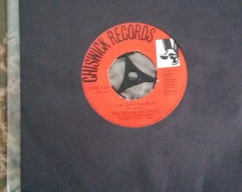 RED BEANS and RICE  that driving beat chiswick 1980 ex+ rare