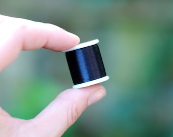 Black KO Thread / 55yd / Nylon Beading Thread