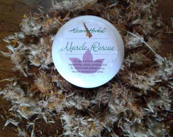 Muscle Rescue Herbal Salve