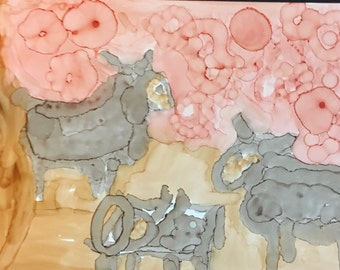 Sheep by night