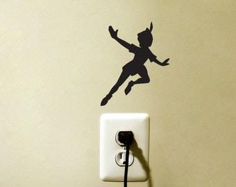 Peter Pan Disney Fairy Light Switch Vinyl Decal Sticker