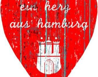 A heart of Hamburg