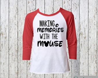 Making Memories with the Mouse Raglan