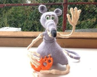 Crochet rat Etsy