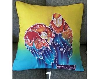 Homemade Thai Batik Cushion / Pillow Covers
