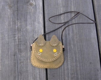 My first wallet, Toddler wallet, Pendant Purse, Kitty Purse