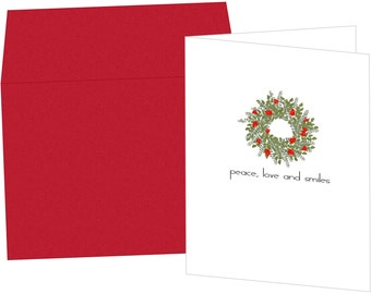 Wreath Holiday Greeting Card