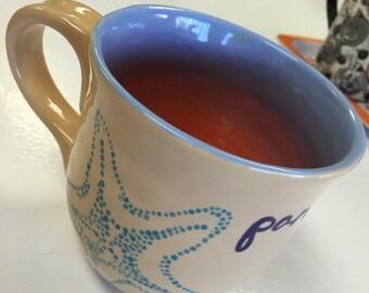 """4"""" Ceramic Beachy Mug"""