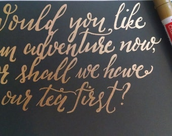 Would you like an adventure now? print