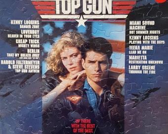Top Gun Soundtrack Album Cover Puzzle