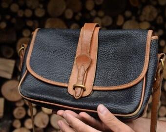 Shoulder Bag VintageDooney & Bourke Bohemian Genuine Leather Bag Leather Purse Saddle Bag Style Purse Leather Purse Leather Messenger Bag