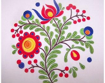 Floral Embroidery Design (FL024)