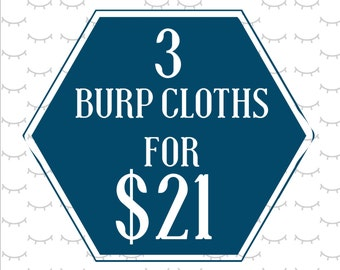 Mix and Match baby burp cloths | you choose 3 for 21! | Burp Rag | trendy baby accessories | newborn | baby shower gift | gender neutral |