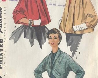 1954 Vintage Sewing Pattern B36 JACKETS (R896)  Simplicity 4944