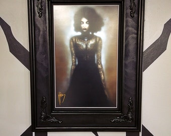 Bella Black Frame 11x17 (Convention Print Size)