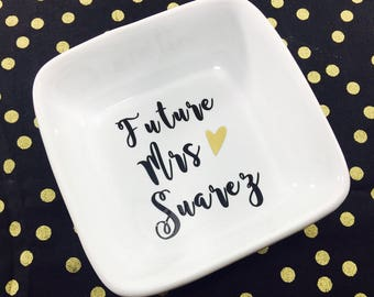 Future Mrs Jewelry Dish